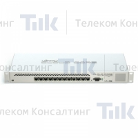 Изображение Маршрутизатор MikroTik Cloud Core Router CCR1016-12G