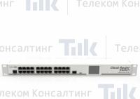 Изображение Коммутатор MikroTik Cloud Router Switch CRS125-24G-1S-RM