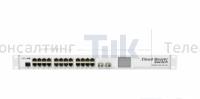 Изображение Коммутатор MikroTik Cloud Router Switch CRS226-24G-2S+RM