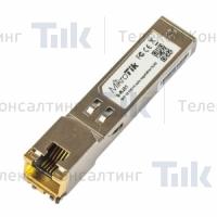 Изображение Оптический модуль MikroTik SFP RJ45 10/100/1000M Copper Module (S-RJ01)