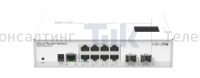 Изображение Коммутатор MikroTik Cloud Router Switch CRS210-8G-2S+IN