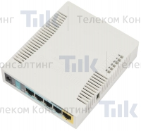 Изображение Маршрутизатор MikroTik RouterBoard RB951Ui-2HnD