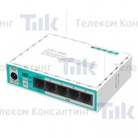 Изображение Маршрутизатор MikroTik hEX lite (RB750r2)
