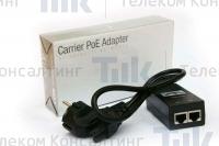Изображение Блок питания Ubiquiti Carrier POE Adapter 48V 24W (0.5A)